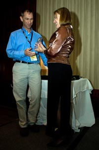Mike Milikich of Motorola receives JCP Award as Outstanding Spec Lead for Java ME